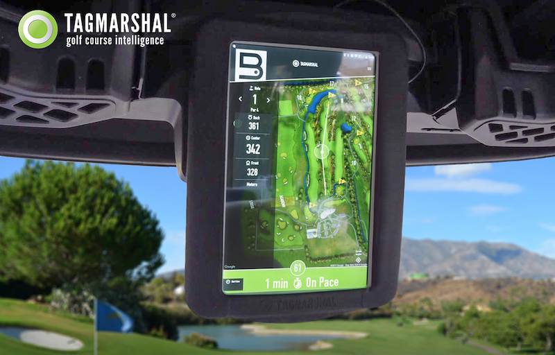 golf cart gps